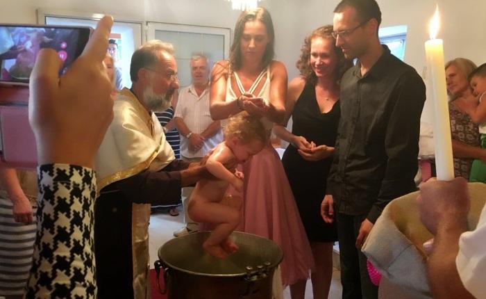 Dopen op zijnGrieks