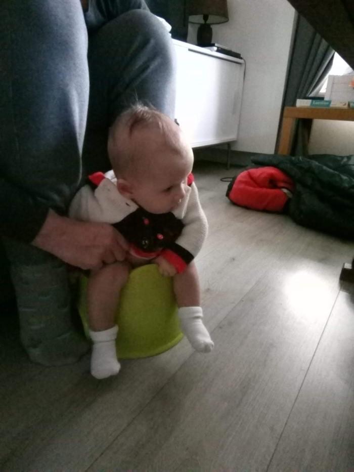 Zindelijke baby